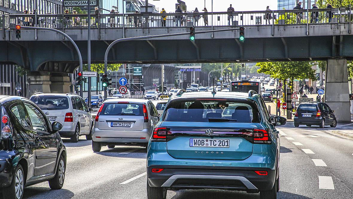 Straßenverkehr Innenstadt