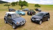 50 Jahre Suzuki Offroader