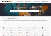 Teilio.de Homepage