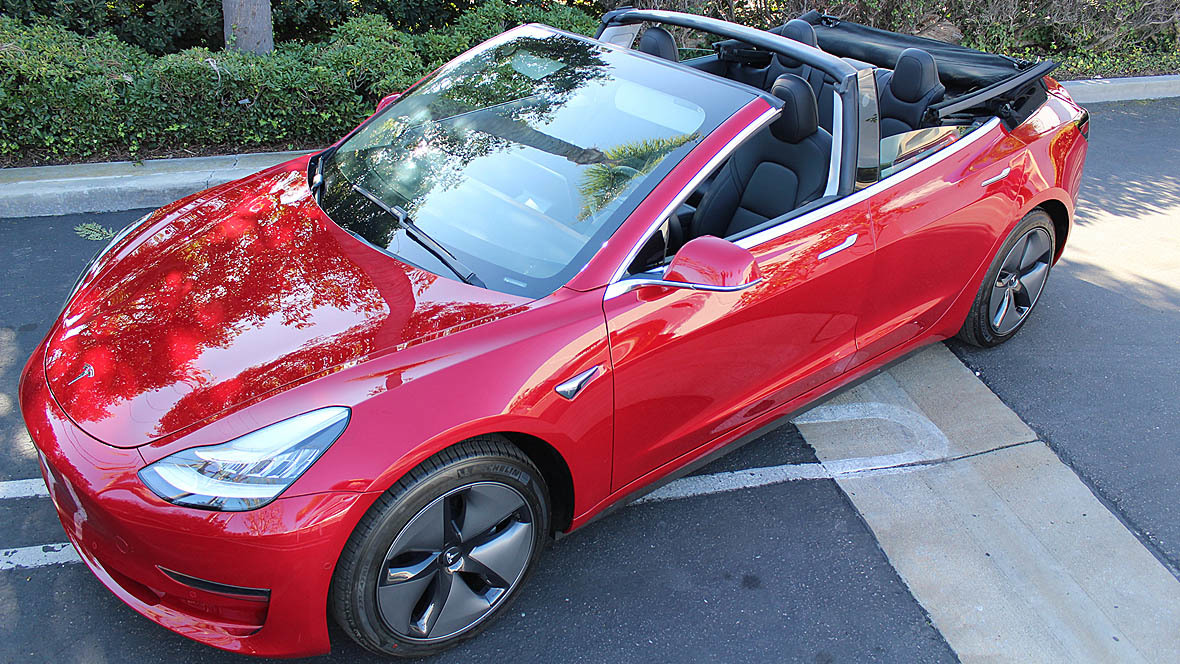Tesla Model 3 Cabrio Newport Convertible Engineering