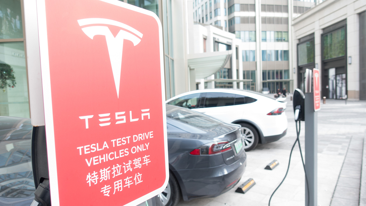 Medien: Tesla baut in China Fabrik