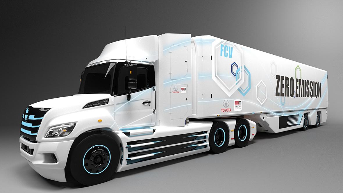 Toyota Wasserstoff-Lkw
