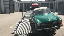 Bergen Transportieren historischer Fahrzeuge
