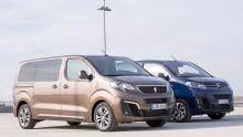 Citroen Spacetourer und Peugeot Traveller