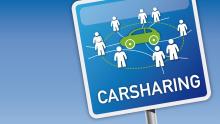 Carsharing Schild