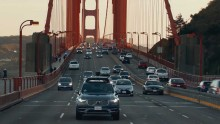 Uber Test USA Volvo