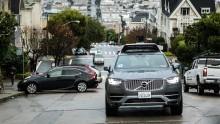 Uber Roboterauto Volvo