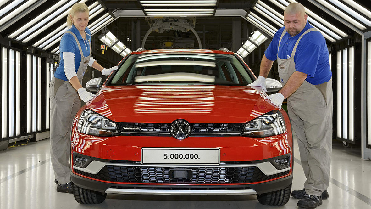 Volkswagen-Kernmarke: Auslieferungen im Januar gesteigert