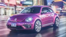 Pink Edition des VW Beetle