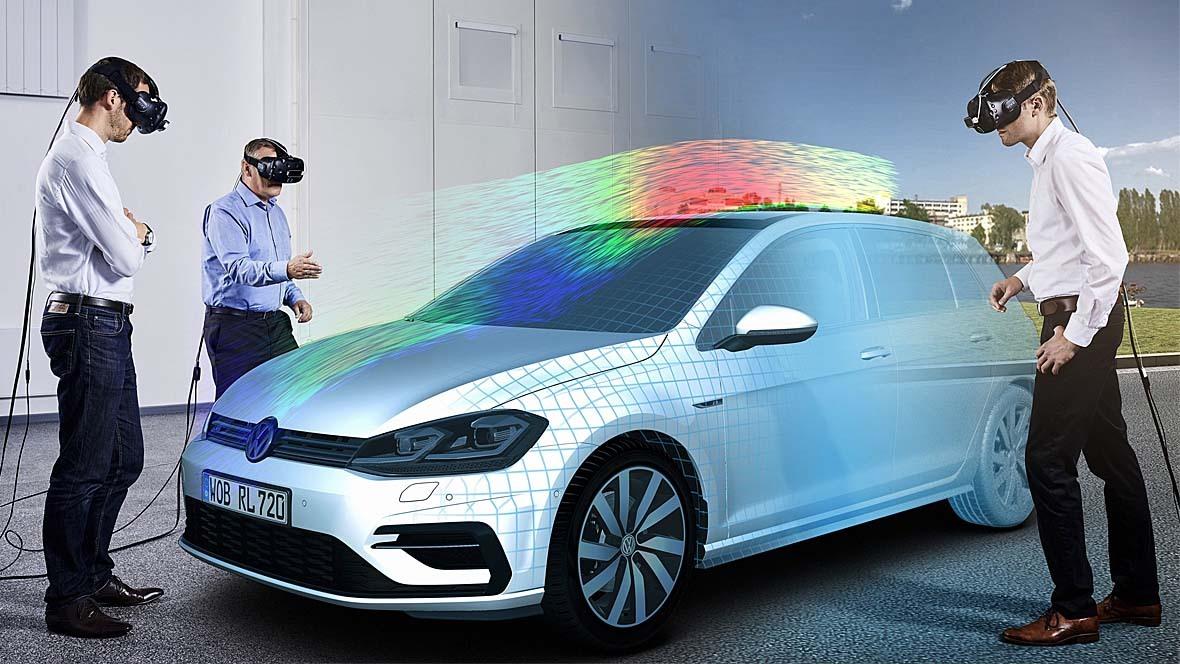 Virtuelle Fahrzeugentwicklung VW