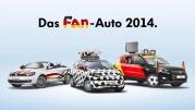 VW-Facebook-Aktion Fan-Auto 2014