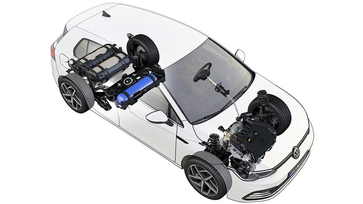 VW Golf 8 TGI (2021)
