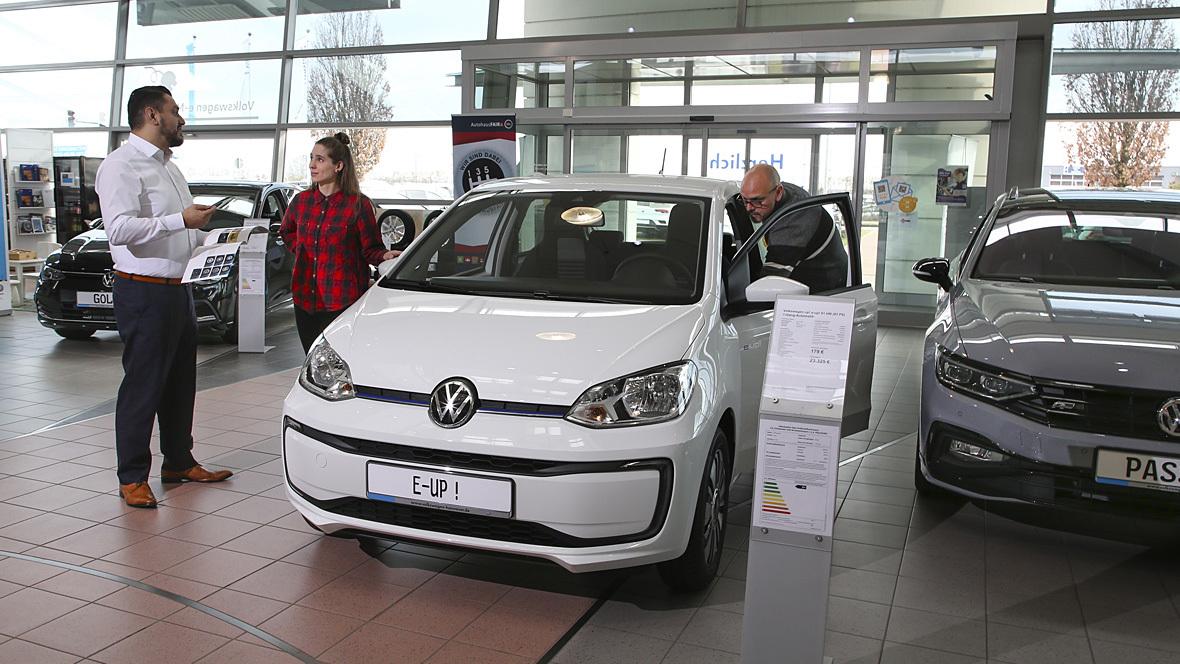 VW-Handel Elektroautos