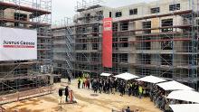 Richtfest Wohnungsneubauprojekt VW Immobilien