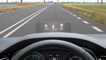 VW Passat Head-up-Display