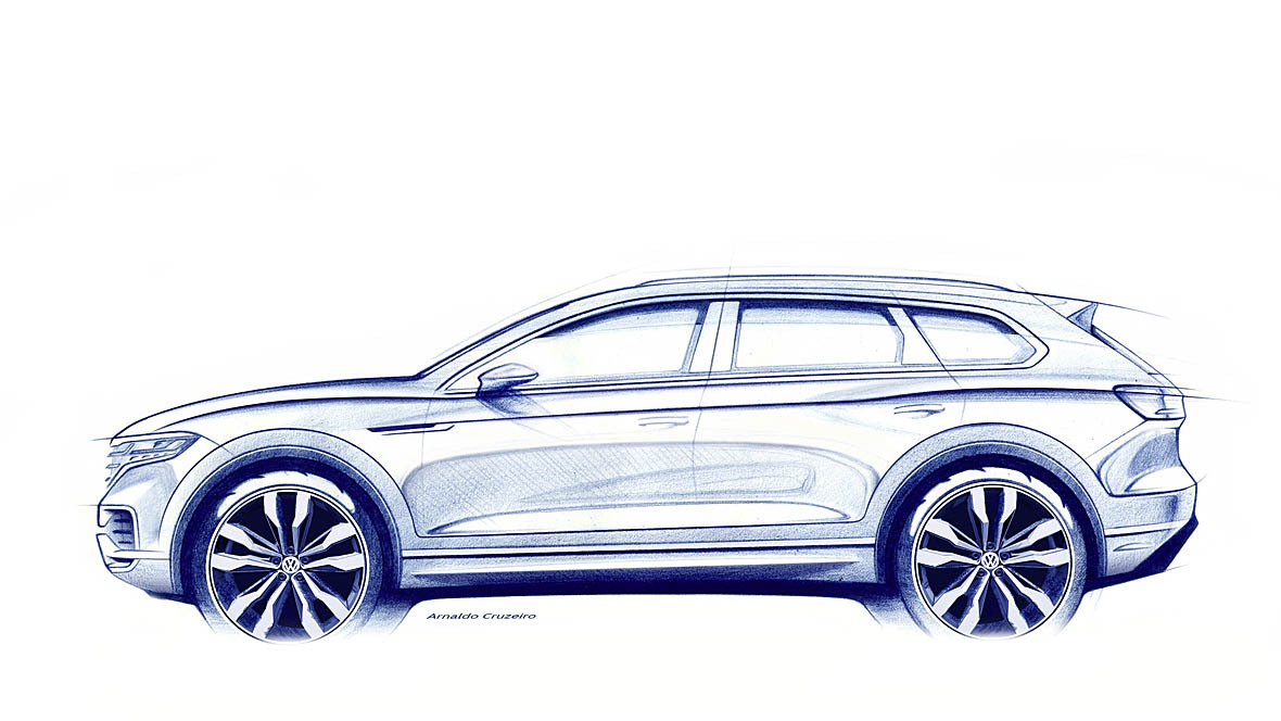 VW Touareg (2019)