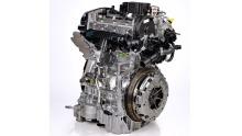 Volvo Dreizylinder-Motor
