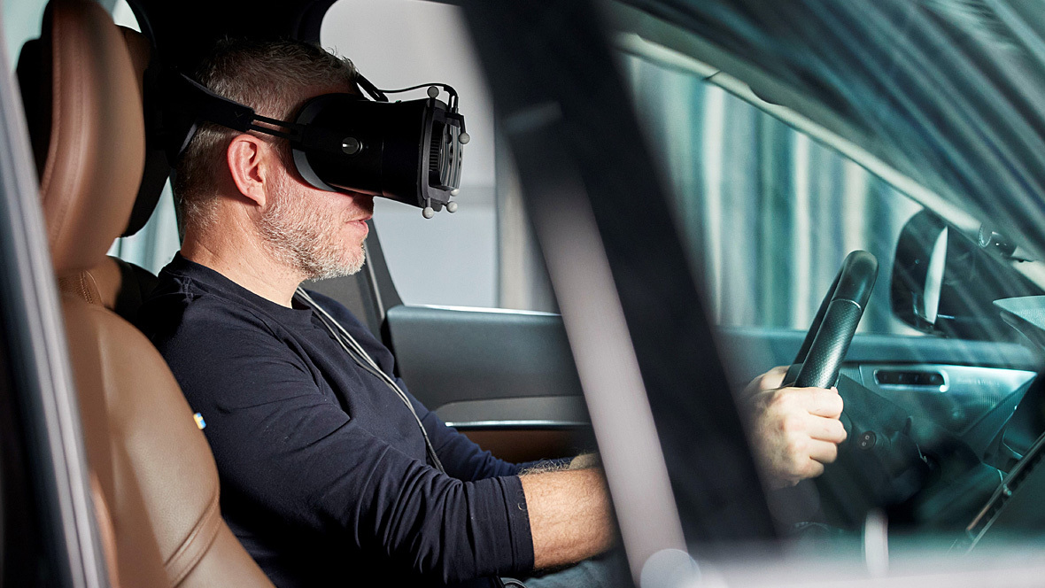 Volvo Mixed Reality Augmented Reality