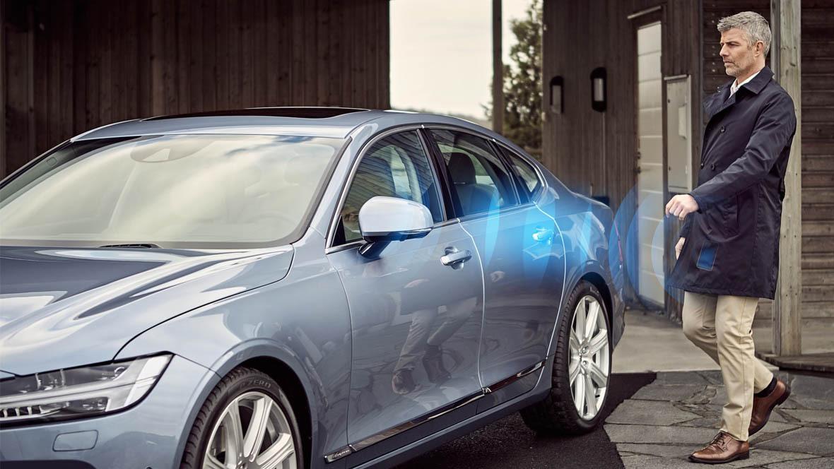 Volvo App Autoschlüssel