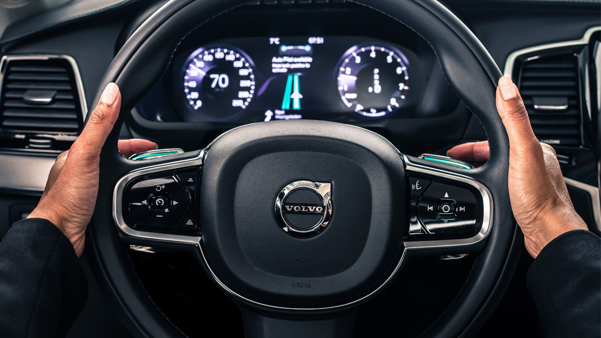 Autonomes Fahren Volvo