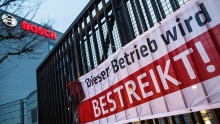 Warnstreik bei Bosch