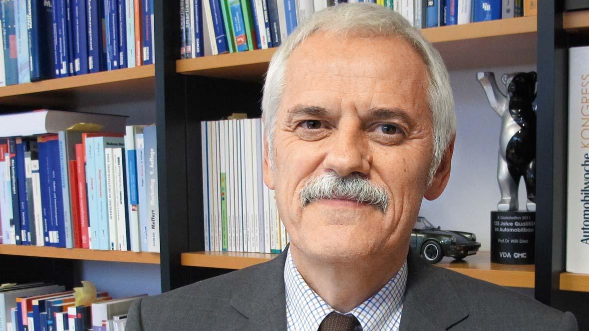 Professor Willi Diez