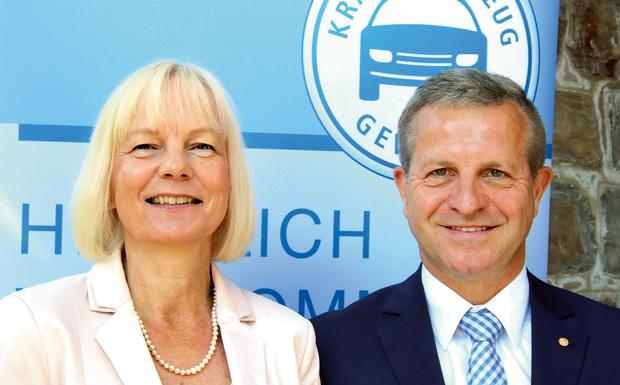 Antje Woltermann und Thomas Peckruhn