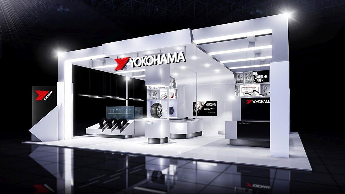 Yokohama Messestand Tokyo Motor Show