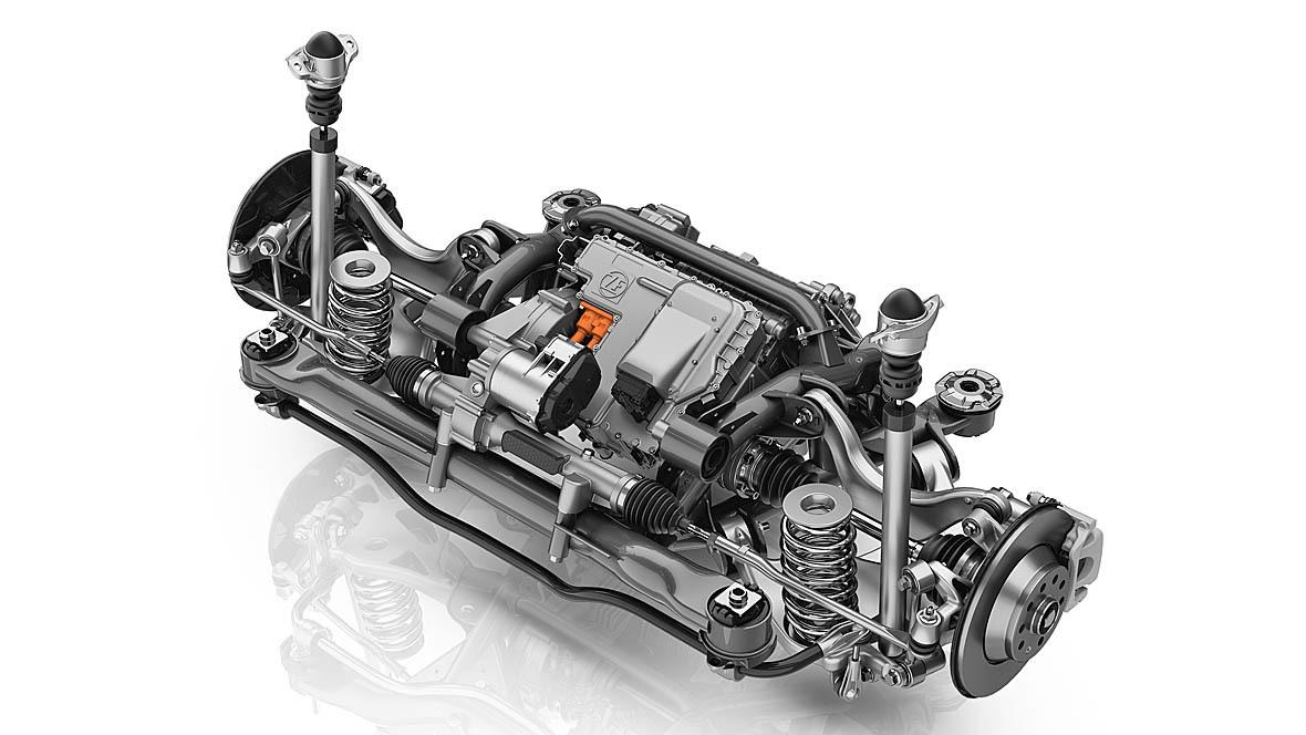 ZF Innovationsfahrzeug VW Touran