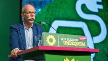 Dieter Zetsche beim Bundesparteitag von Bündnis 90/Die Grünen