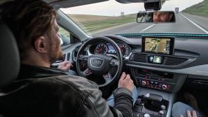 Pilotiertes Fahren mit Audi