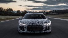 Neuer Audi R8, erste Testfahrt