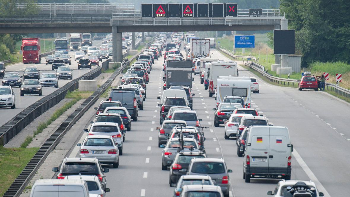 Autobahn A9 Allershausen