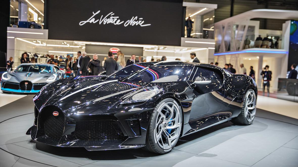 reputable site 7ad98 b4f70 Bugatti La Voiture Noire: In gewisser Weise ein Schnäppchen ...