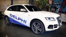 Delphi testet autonomes Auto