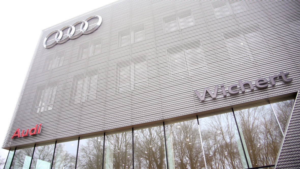 Audi Terminal Auto Wichert Hamburg
