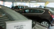Leasinganangebot im Autohaus