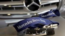Schlüsselangebot: Die Mercedes-Benz Bank offeriert Flottenkunden, den neuen Mercedes C220 BlueTec zu leasen. Die Monatsrate deckt zudem Versicherung und Service ab.
