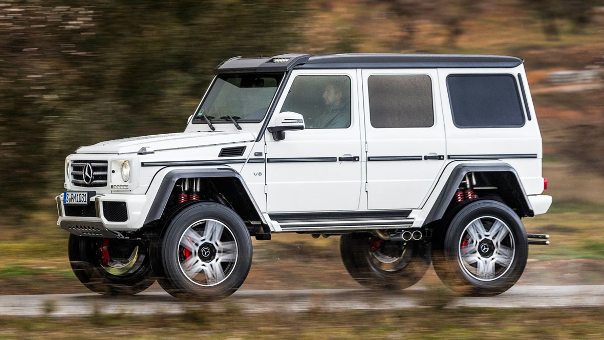 Mercedes benz g500 4x4 hoch 2 concept for Mercedes benz g wagon squared
