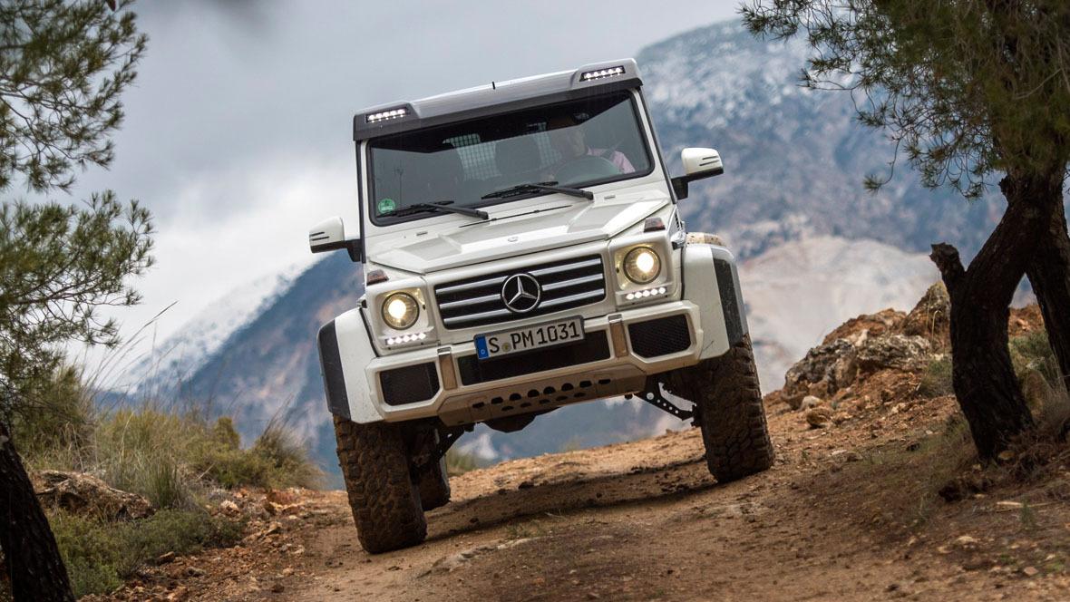 Mercedes G 500 4x4 hoch 2: Der Gigant fürs Grobe - autohaus.de