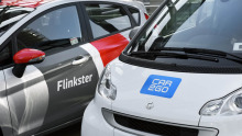 Flinkster und Car2Go