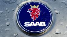 Saab Logo Eis