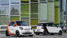 Smart Fortwo und Forfour